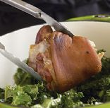 Collards & Ham Hocks ~ Down Home Recipe