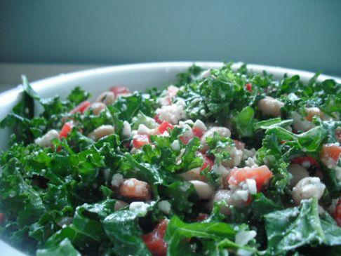 Jen's On-the-Fly Kale Salad