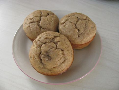 Banana Muffins - Low Fat, Low Sodium