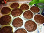 Dutch Cocoa Muffins--low fat, high protein!