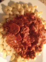 Meaty Sausage Pasta