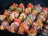 Chicken Bacon Kabobs