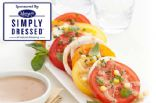 Simply Dressed Heirloom Tomato Salad