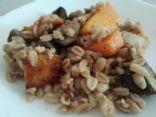 Roasted Butternut Squash, Mushrooms & Farro