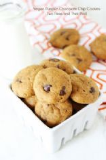 Healthy Pumpkin walnut cookies