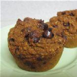 Pumpkin Chocolate Chip Bran Muffins