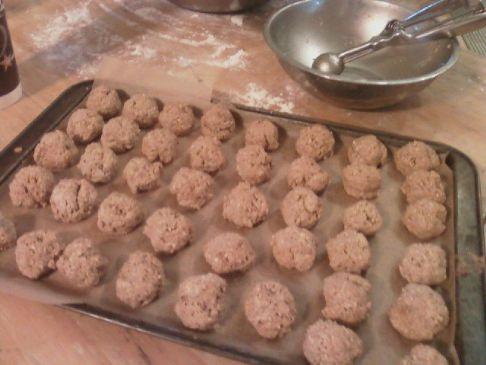 Vegan (non)Meat Balls
