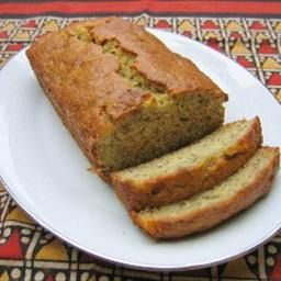 Whole Wheat Agave Banana Bread (Low Calorie/Fat)
