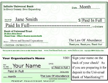 how to write a check for 1 000