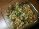 Chelle's Cole Slaw with Broccoli and Raisins - Vegan