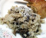 Mushroom Baked Risotto