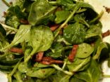 Warm Spinach Salad