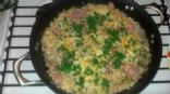 Cheddary Ham And Rice Casserole