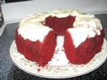 Duncan Hines Red Velvet Cake with yogurt