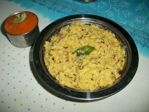 Moong dal spinach with oats