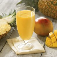 Mango-Pineapple-Banana Smoothie