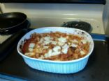 2 Cheese Chicken Penne Bake