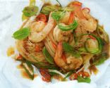 Baked Chilli Prawn Noodles