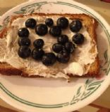 Blueberries n' Cream Toast