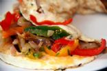 Loaded Vegetable Egg White Omelet