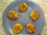 Indian-spiced rutabaga cakes