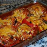 Quinoa Stuffed Pepper Enchiladas