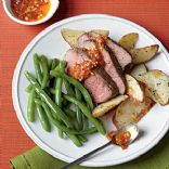 Cooking Light - Roast Leg of Lamb with Chile Garlic Sauce