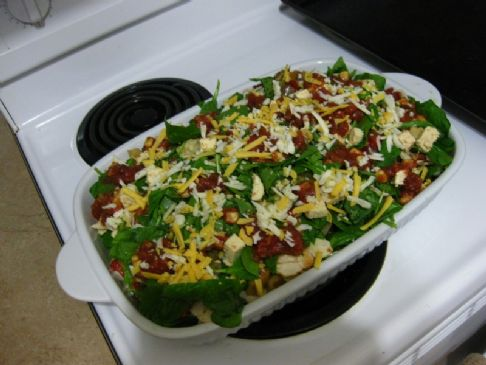 Vegetarian Enchilada Bake