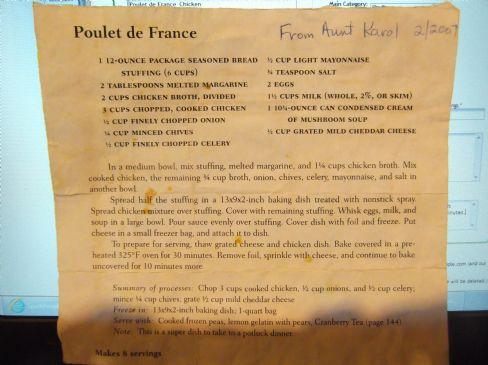 Poulet de France_Chicken