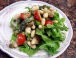 White Bean, Asparagus & Tomato Salad