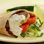Chickpea Burgers & Tahini Salse