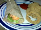 HG Buffalo Chicken Chop Salad Wrap