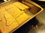 Wheat free corn bread