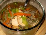 Oriental (Shirataki) Noodle Soup for 1