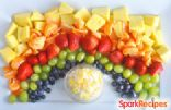 Pot o' Gold Rainbow Fruit Tray
