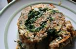 Italian Meatloaf Roll w/ Spinach