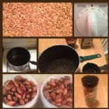 cinnamon honey baked almonds