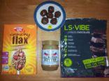 Kid-Tested Yummy Protein Balls GF DF CF Peanut Free w/Greens, Omega, Fiber & Vitamins
