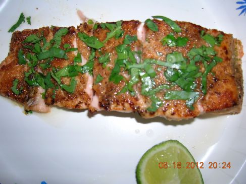Honey Lime Salmon