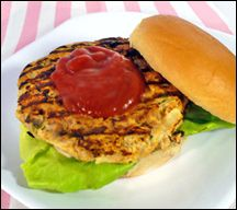 Tremendous Top-Shelf Turkey Burger