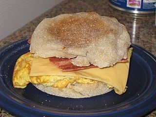Bacon, Egg & Cheese Muffin