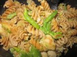 Cheesy Chicken, Asparagus & Pasta
