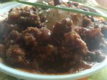 Mayan Chili with Grassfed Ground Beef, Low Fat and Gluten Free!