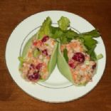 Lancemythian Leatherleaf-Flower salad (jumbo-shell lobster and cranberry pasta salad)