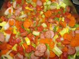 Smoked Turkey Sausage Vegetable Medley