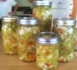 Pickled Veggies, Low Carb