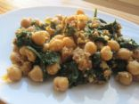 Spinach and Garbanzos