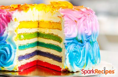 End-of-the-Rainbow Layer Cake