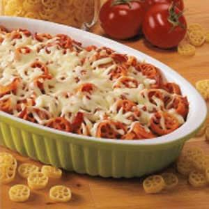 Pepperoni Pasta Bake Recipe | SparkRecipes