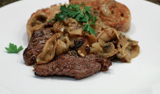 how to cook elk steak in a pan